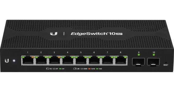 Ubiquiti Edgeswitch Es-10xp 8 Gigabit Poe Out 2 Sfp Admin