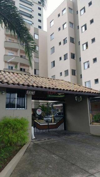 Apartamento Com 2 Dormitórios À Venda, 59 M² Por R$ 250.000,00 - Vila Antônio Augusto Luiz - Caçapava/sp - Ap3866