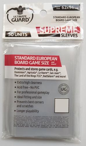 Ultimate Guard Micas Para Juegos De Mesa Standard European
