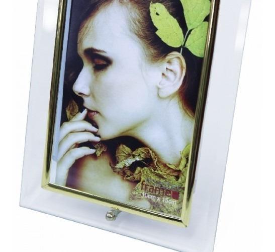 2 Porta Retrato Vertical 10x15 De Vidro