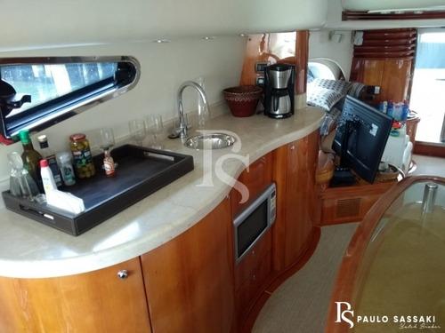 Lancha Intermarine 760 Full Ñ Ferretti Phantom Fairline
