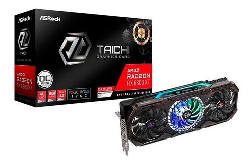 Imagen 1 de 3 de Tarjeta Grafica Asrock Amd Radeon Rx6800xt Taichi X 16g