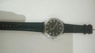 Reloj Montblanc Con Collar De Cuero Natural