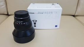 Zeiss Distagon T* 15mm F/2.8 Ze Lente Para Canon - Pouco Uso