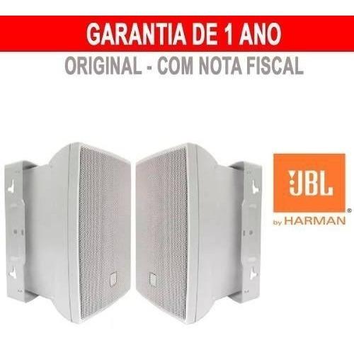 Caixa Som Ambiente Jbl Selenium C621 100w C621b Par Branco