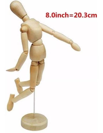 Boneco Manequim Articulado 20cm *frete+barato*