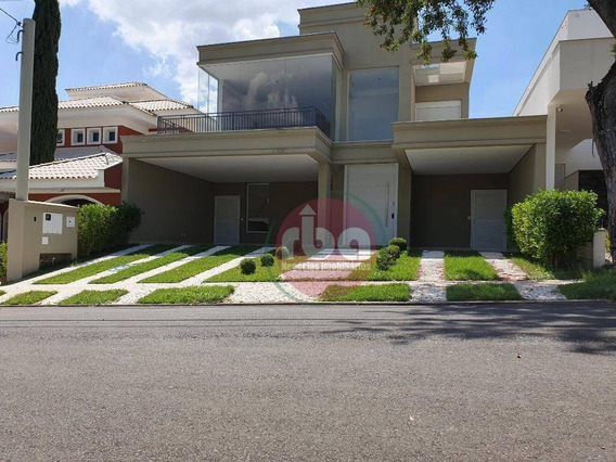 Casa Residencial À Venda, Condomínio Sunset Village, Sorocaba. - Ca0472