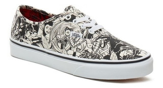 Zapatillas Vans Authentic Marvel Heroinas! Edicion Limitada!