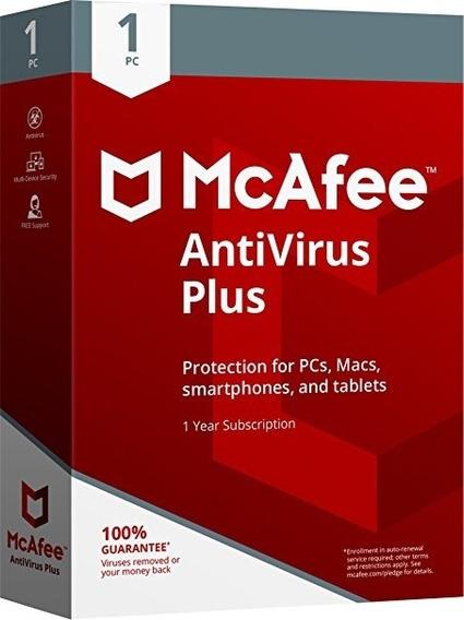 Mcafee Antivirus Plus 2019 - Ativação Online - Frete Grátis