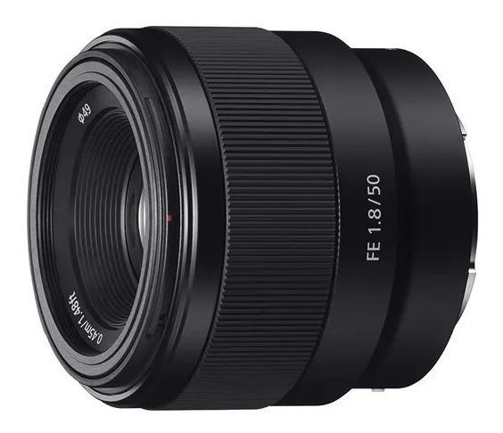 Lente Sony Sel50f18f Fe 50mm 1.8