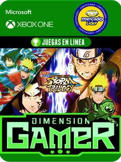 Naruto Shippuden Trilogy - Xbox One - Online/offline