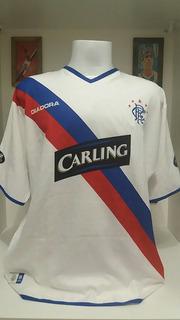 Camisa Futebol Rangers Liga Escócia