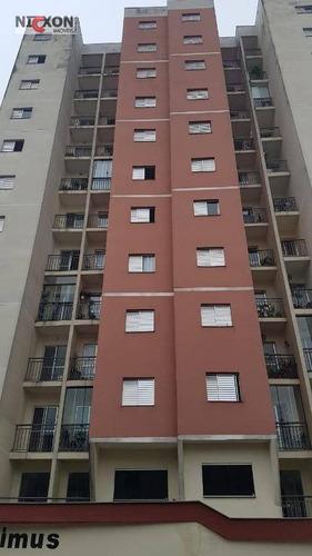 Apartamento Com 1 Dormitório À Venda, 48 M² Por R$ 198.000 - Jardim Dourado - Guarulhos/sp - Ap1317