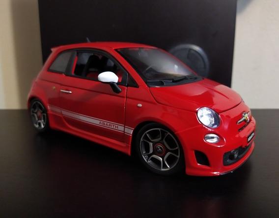Fiat Abarth 500 Escala 1/18 Bburago Caja Leer Descripcion