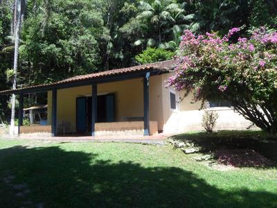 Juquitiba-sítio C/ Casa/chalés/represa/permulta Ref: 03628