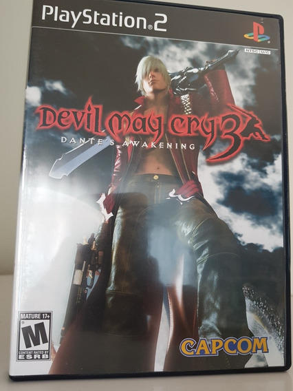 Jogo Devil May Cry 3 Para Ps2