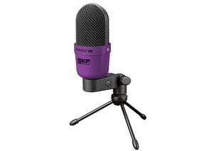 Microfone Para Estudio Skp Podcast 200 Condensador