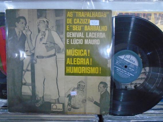 Lp - Genival Lacerda E Lúcio Mauro / Música! Alegria