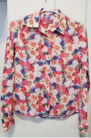 Camisa Feminina Dzarm Tamanho P Original Pouco Usada Flores