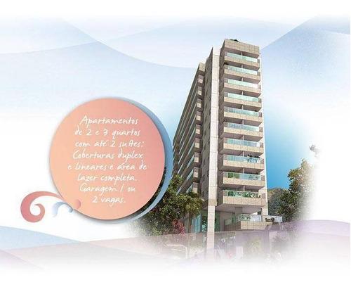Apartamento Com 2 Quartos À Venda, 81 M² Por R$ 588.800 - Santa Rosa - Niterói/rj - Ap44152