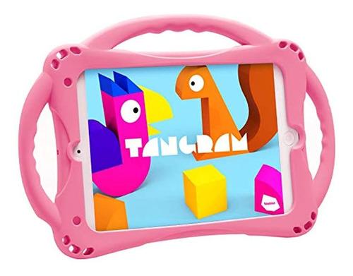 Imagen 1 de 7 de Topesct - Funda De Silicona Para iPad Mini 5, 4, 3, 2 Y 1, A