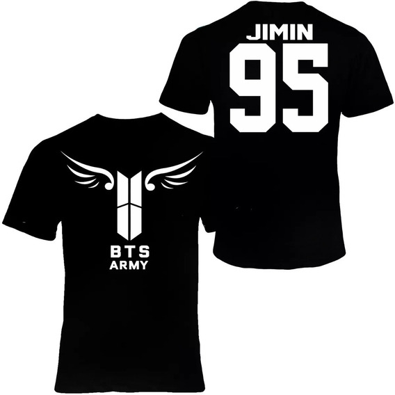 Blusa Bts Logo Nuevo Army V,jungkook,jimin,