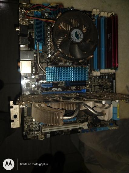 Kit 1366 I7 950 Mais Placa Mãe Asus P6x58d-e