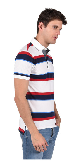 Polo Stretch Fit Chaps Blanco 750711446-2wgr Hombre