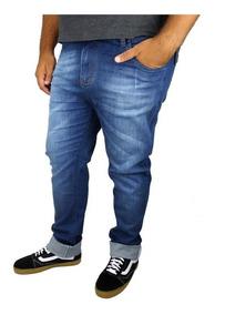 Calça Jeans Masculina Plus Size Até Nº 68 Tamanho Grande