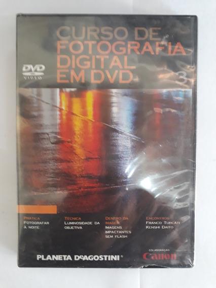 Curso De Fotografia Digital Em Dvd - Número 3 (1000 )