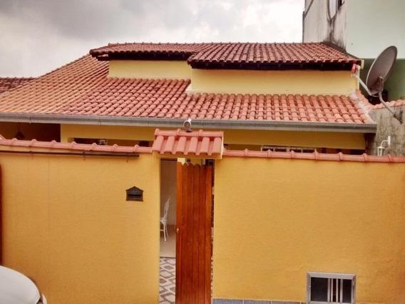 Caonze/nova Iguaçu.casa 2 Quartos Sendo 1 Suíte, Quintal E 3 Vagas Garagem. - Ca00550 - 32690506