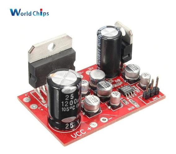 Placa Amplificador De Áudio Estéreo Tda 7379 ,12v