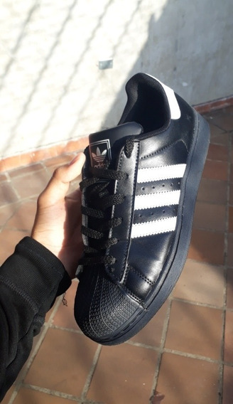 Zapatos adidas Superstar Black