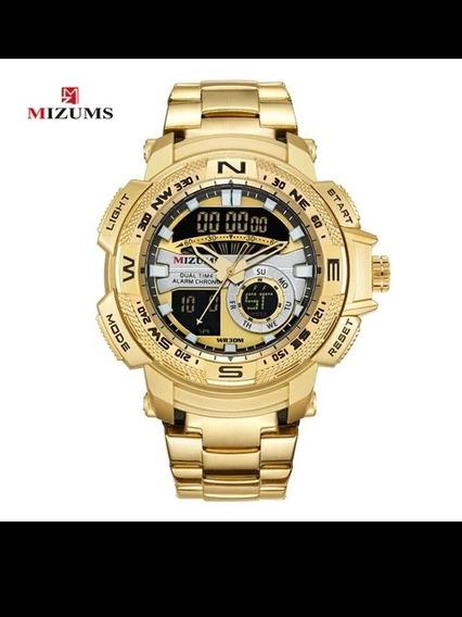 Mizums Marca Relógio De Quartzo Relógios Masculinos Do Espor