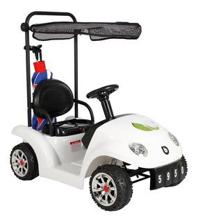 Carrito Golf Bebeglo 12v Blanco