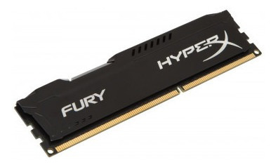 Memoria Kingston Hyperx Fury 4gb (1x4) Ddr3 1600mhz Preta
