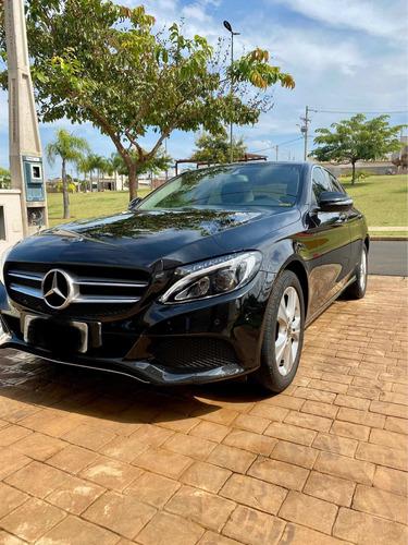 Mercedes-benz Classe C 2018 1.6 Avantgarde Turbo Flex 4p