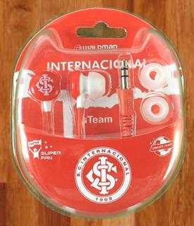 Fone Futebol Internacional Original iPhone Sansung Oficial