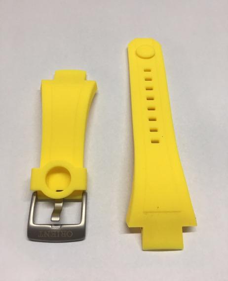 Pulseira Orient Seatech Mbttc014 469ti003 Amarelo