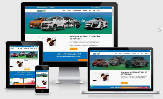 Site Para Leilão De Veículos, Script De Leilão De Veículos.