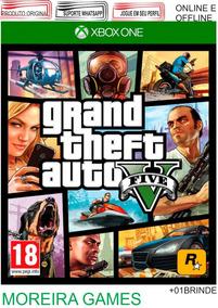 Grand Theft Auto V Xbox One + Brinde