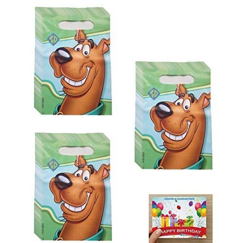 Bolsas De Golosinas De Cumpleaños De Scooby Doo Para 24 Invi