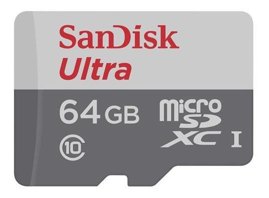 Cartão De Memória Sandisk Sdsquns-064g-gn3ma Ultra 64gb