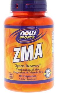 Zma Now Foods 90 Cápsulas Aumento Testosterona Now Sports