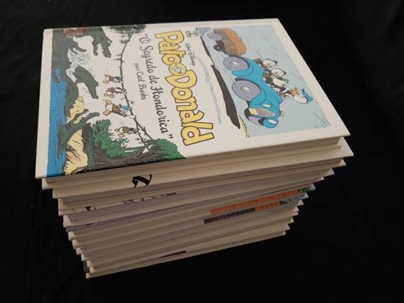 Coleção Pato Donald De Carl Barks Da Abril 10 Volumes