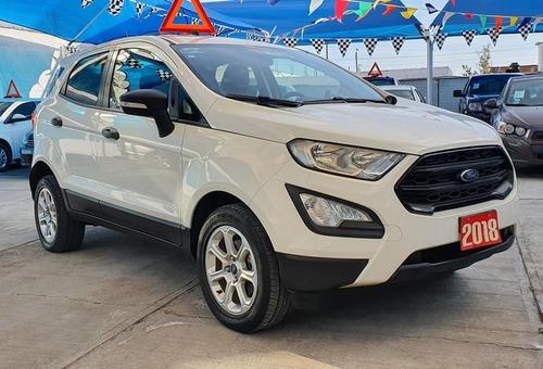 Imagen 1 de 15 de Ford Ecosport Trend 2018 Std. 3 Cil. 1.5l