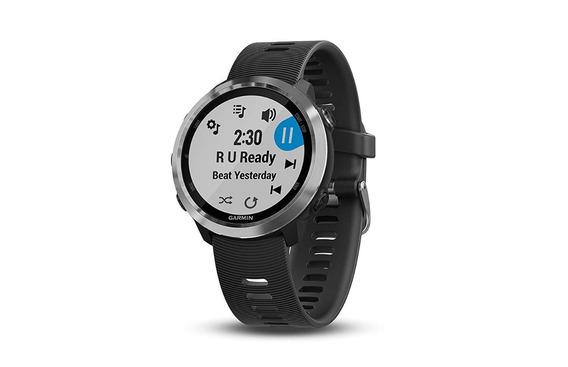 Relógio Smartwatch Garmin Forerunner 645 Music Black Slate