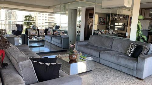 Imagem 1 de 30 de Apartamento 177 M² 3 Suítes 3 Vagas Condomínio Paulistano. - Ap00157 - 69540288