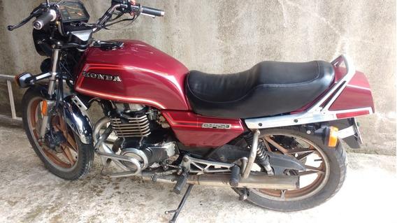 Moto Cb 450 (1985)