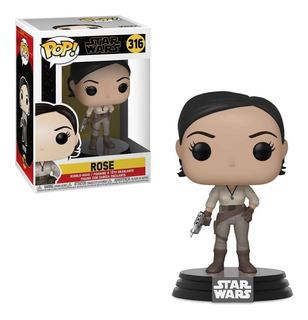 Funko Pop 316 Star Wars The Rise Of Skywalker - Rose